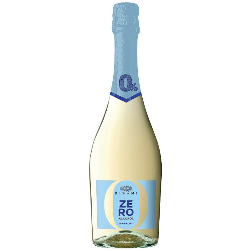 Rivani 0.0% Bianco – de-alcoholised Spumante