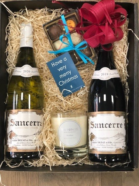 Date Night (or Christmas Gift Box)-Two bottle Gift Box