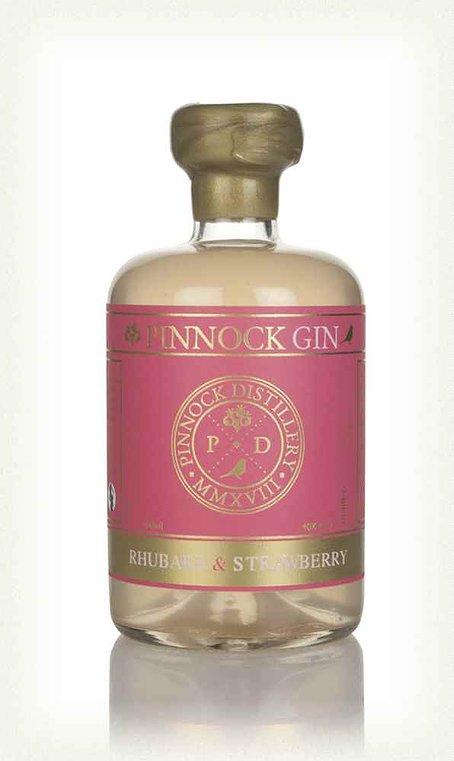 Pinnock Rhubarb & Strawberry Gin (40% ABV)