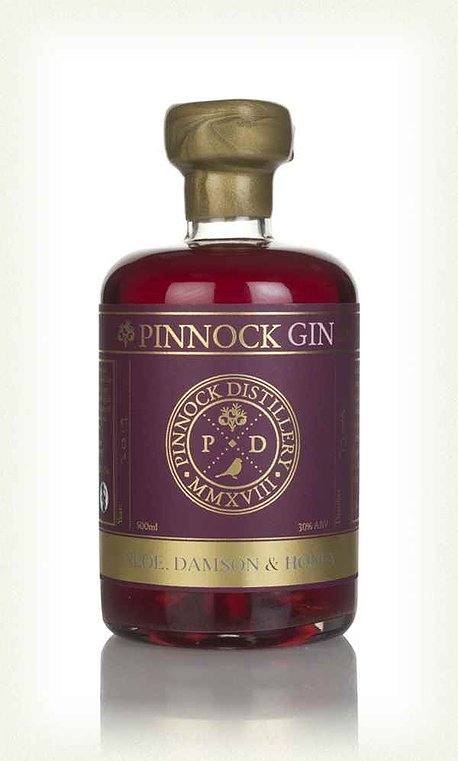 Pinnock Sloe, Damson & Honey Gin (30% ABV)