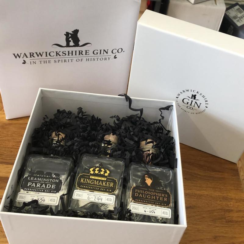 Warwickshire Gin – Miniature Gift Set