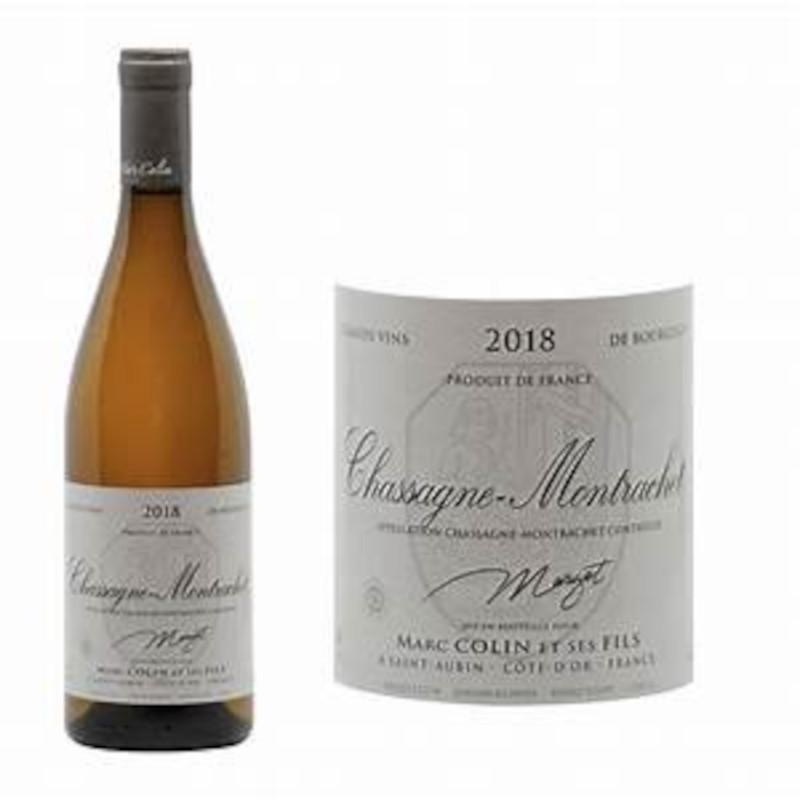 Chassagne-Montrachet 'Margot' Marc Colin, France 2018